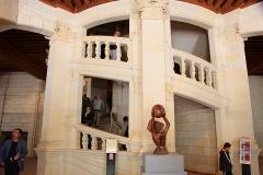 Schloss-Chambord-Treppenaufgänge
