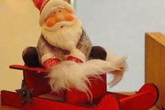 Weihnachtsmann-Schlitten